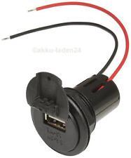 CARICABATTERIE USB PRESA 12v-24v 3a installazione Power barattolo per auto, caravan, ecc.