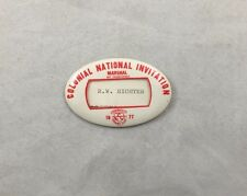 1977 Marshall Fort Worth Colonial National Invitation Golf Pin