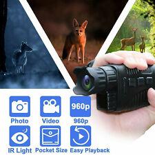 Digital Infrared Night Vision Monoculars Circular Video Recording Hunting Camera