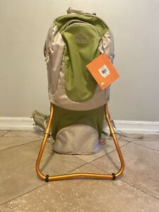 Kelty Kids FC 3.0 Child Carrier Toddler Baby Hiking Backpack Sage Green Bag