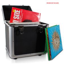 """Power Dynamics 171.823 Black LP Vinyl Record Case 100x 12"""""""