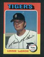 1975 Topps #116 Lerrin LaGrow NM/NM+ Tigers 67472