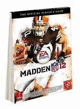 Madden NFL 12: The Official Player's Guide 2011 New MIB
