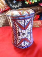 Outstanding Handpainted GUALDO Multi-Color MAJOLIKA VASE from ITALY.........SALE