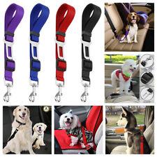 4 Pack Cat Dog Pet Safety Seat belt Clip for Car Vehicle Adjustable Harness Lead
