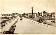 Old postcard London Road, Cowplain, Waterlooville, Hampshire.