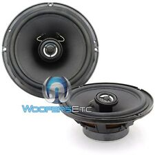 "PAIR FOCAL 6.5"" CAR OEM REPLACEMENT 2-WAY BUILT IN TWEETERS COAXIAL SPEAKERS NEW"