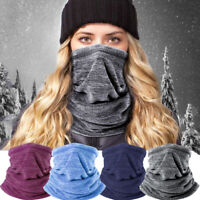 Thermal Neck Warmer Snood Winter Scarf Tube Fleece Ski Motorcycle Cycling Unisex