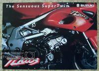 SUZUKI TL1000S MOTORCYCLE Sales Brochure c1996? #MBTL1000-BROCH