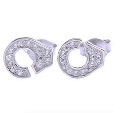 Dinh Van Paris Jewelry Sterling Silver Earrings