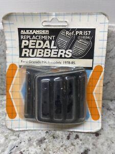 NOS Replacement Pedal Rubbers Ford Granada MK11 1975 - 1985 PR157 Non Genuine