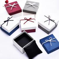 Men Women Watch Box Paper Wrist Watches Holder Jewelry Storage Organizer Box