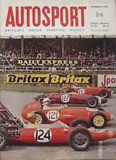 AUTOSPORT magazine 30/9/1966