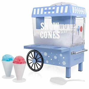 Details about  /Electric Countertop Shaved Ice and Snow Cone Machine