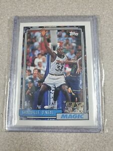 1992 Topps Shaquille O'Neal #362 Basketball Card