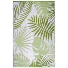 Esschert Design Tappeto da esterno 241x152 cm Foglie tropicali Oc22