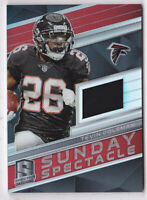 2018 Panini Spectra Sunday Spectacle Jerseys #34 Tevin Coleman Jersey 81/199
