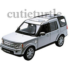 Welly Land Rover Discover 4 1:24 Diecast Model Toy Car 24008 Silver
