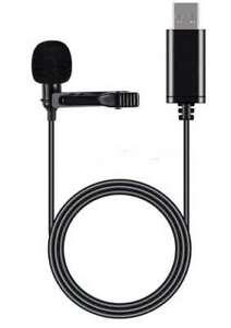 Lavalier Lapel Microphone | USB-A