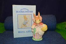 Large Royal Albert Beatrix Potter Mrs Rabbit Going To Market Figurine RD4874
