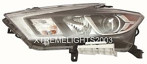 FITS NISSAN MAXIMA 2016 2017 LEFT DRIVER HEADLIGHT HEAD FRONT LAMP LIGHT NEW