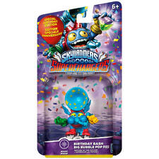 Skylanders Superchargers Birthday Bash Big Bubble Pop Fizz Character Pack NEW