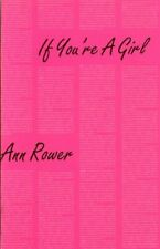 If You're a Girl (Semiotext(e) / Native Agents), Rower 9780936756608 New+=