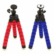 Flexible Foam Legs Octopus Mini Tripod Stand for SLR DSLR Camera Color Black