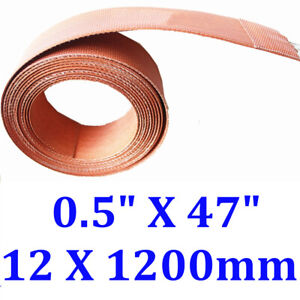 "0.5"" X 47"" 12 X 1200mm Pipe Heat Tape WVO JSRGO Universal Strip Silicone Heater"