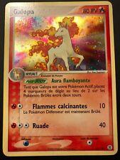 Carte Pokemon GALOPA 13/112 Holo Rouge Feu Vert Feuille Bloc EX Française NEUF