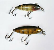 Pair Of Creek Chub #200 Baby Wiggler Lures