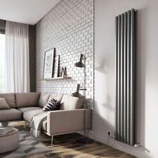 "Ultraheat ""Sofi"" Anthracite Simple/double vertical, Designer, Oval Tube radiateu..."
