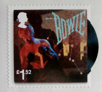 DAVID BOWIE - Individual ROYAL MAIL £1.52 (Europe Rate) postage stamp, MINT