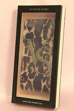 NIB 1 VICTORIA'S SECRET VS LOGO CHEETAH PATTERN HARD CASE COVER iPHONE 5/5S NEW