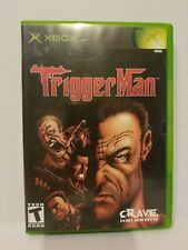 Trigger Man (Microsoft Xbox, 2004) Complete! Free shipping!