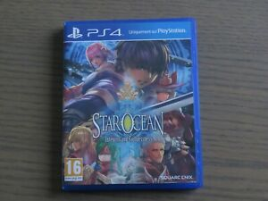 JEU PLAYSTATION 4 PS4 STAR OCEAN INTEGRITY AND FAITHLESSNESS VERSION FR