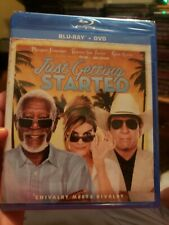 Just Getting Started 2018 Blu-ray +Dvd Combo Brand New Sealed Morgan Freeman