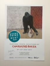 Charming Baker Everything Must Go signed limited edition turquoise print banksy
