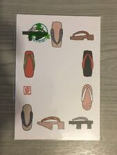 New Sealed Japanese Postcard of Traditional Geta Sandals Uwabaki Zori