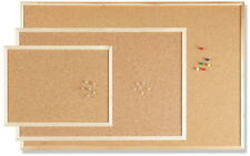 5x Pinwand 30 X 40cm Pinnwand Kork mit Holzrahmen