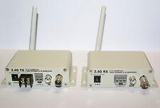 AV Funkübertrager JSW-2400VTS/VRS Abhörsicher (!) - Bug-Proof (!) AV transmitter