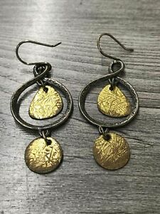925 Sterling Silver Silpada Dangle Earrings