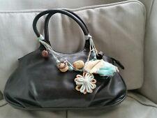 Radley Leather Tote Grab Handbag Black Small