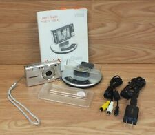 Genuine Kodak (V550) 5.0MP Silver Digital Camera With Charging Dock Bundle *READ