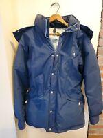 Men's Vintage 80s The North Face Brown Label 550 Down Parka Puffer Jacket Sz M