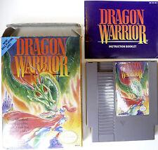 Dragon Warrior (Quest) *Complete In Box CIB (UPDATED)* Great! Nintendo NES
