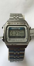 Vintage rare SEIKO ALBA watch Y749-5090 Quartz Digital Alarm Chronograph