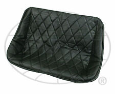 "VW BUG BUGGY SAND RAIL REAR BENCH VINYL SEAT COVER, 38"" WIDE,BLACK DIAMOND"