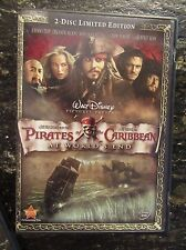 Pirates of the Caribbean: At World's End (DVD, 2007, 2-Disc Set, LIMITED EDITION