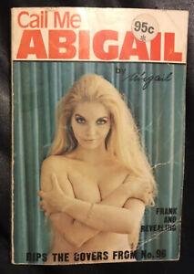 1973 *RARE** Call Me Abigail Paperback Australian Autobiography With Photos